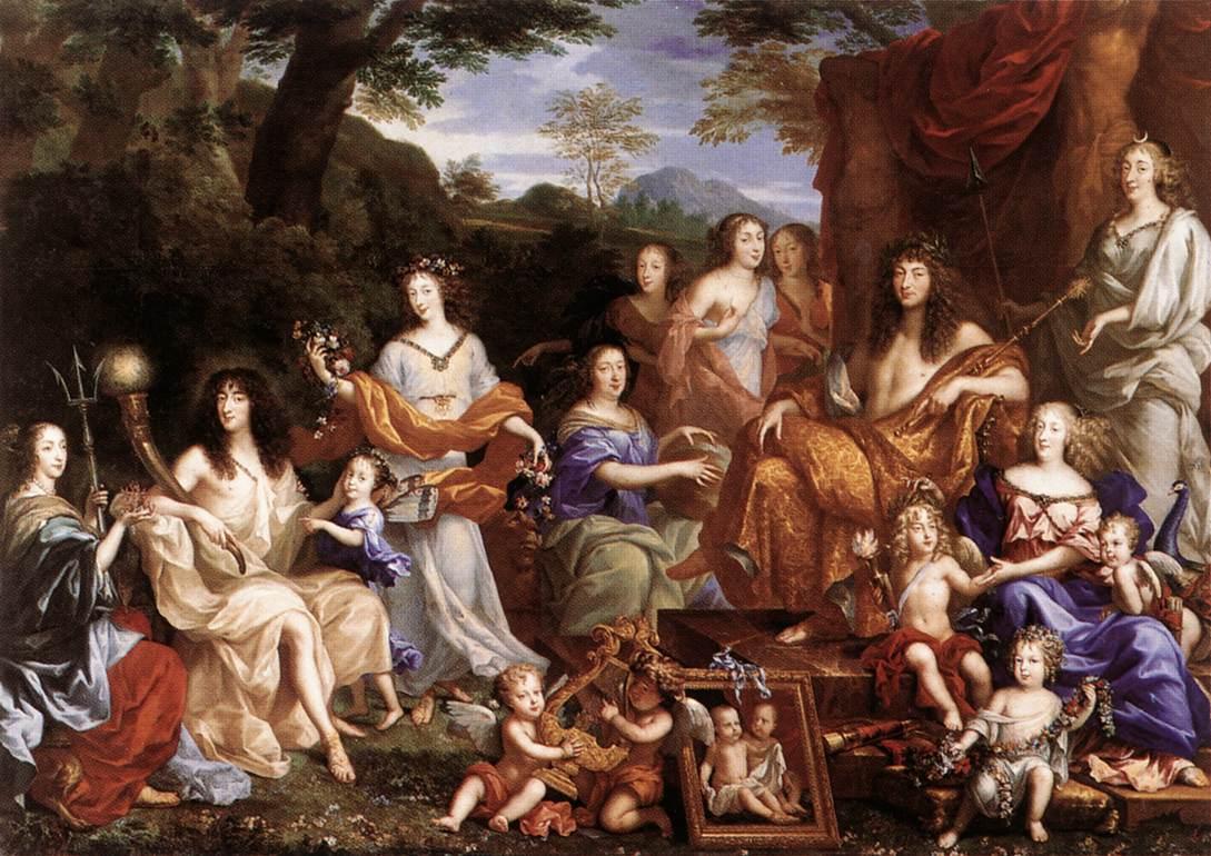 Le clavecin de versailles for 16 image the family salon