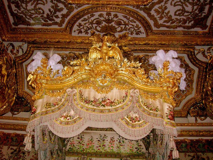 Camera della regina versailles - Letto a baldacchino antico ...