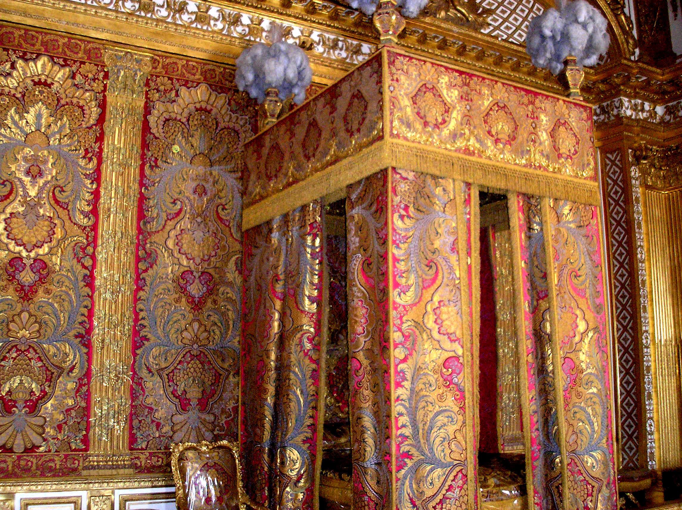Camera da letto d 39 apparato del re sole - Immagini di stanze da letto ...
