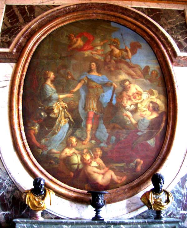 Salone della pace versailles for Pittura salone
