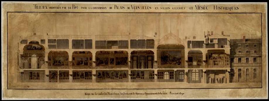 Versailles ai tempi di luigi filippo for Stima del costo portico