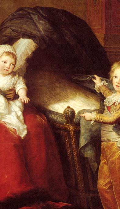 Maria antonietta e figli reggia di versailles for Charles che arredo la reggia di versailles
