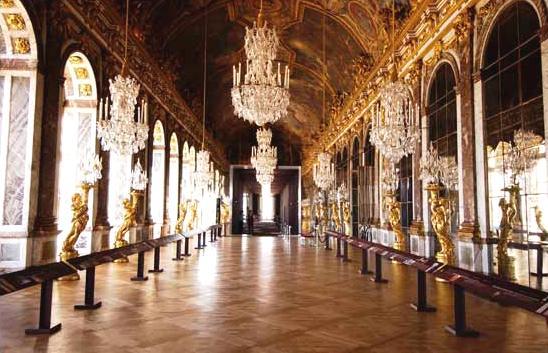 1684 la galleria del re for Charles che arredo la reggia di versailles
