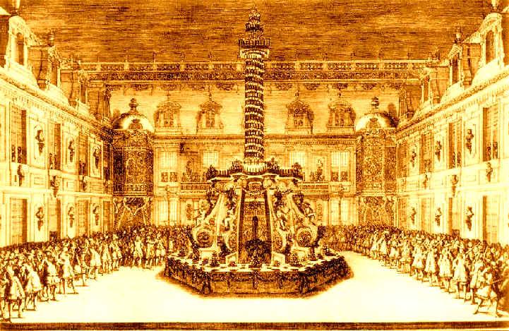 La costruzione della reggia di versailles for Charles che arredo la reggia di versailles