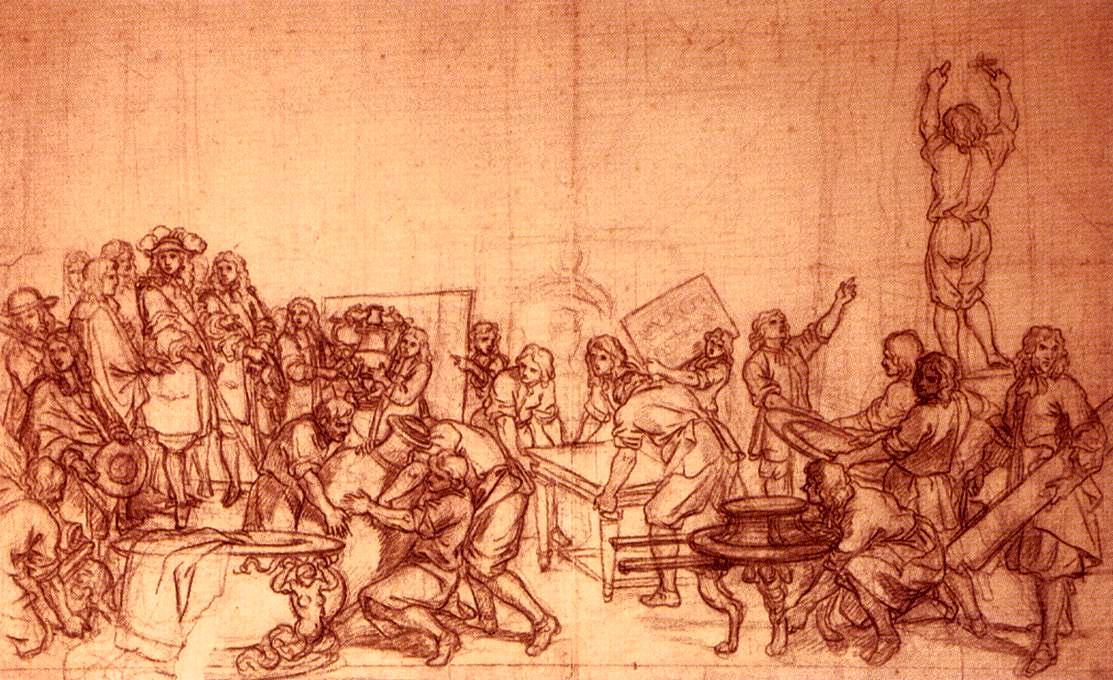 1 gli archivi della bastiglia l 39 affare dei veleni for Charles che arredo la reggia di versailles